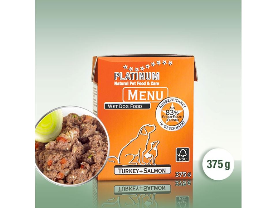 PLATINUM Menu Turkey + Salmon